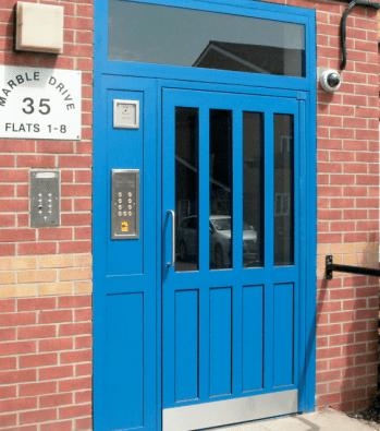 Classic AL Hinged Security Doorset Range